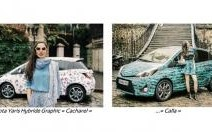 On the Road avec la Toyota Yaris Hybride Graphic