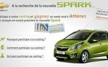 Chevrolet : un séjour à Athènes à gagner via un casting sur le web