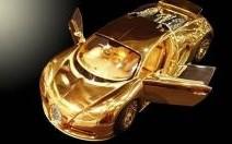 Une miniature de Bugatti Veyron en or à 2,4 millions d'euros