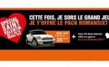 Sixt offre le Champagne en voiture pour la Saint-Valentin