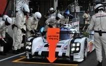Une station-service Esso transformée en pit-stop pendant les 24h du Mans