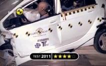 4 étoiles pour la Mitsubishi i-MIEV au crash test EuroNCAP