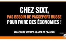 Sixt s'amuse du passeport russe de Gérard Depardieu