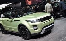 L'Evoque en vedette chez Land Rover