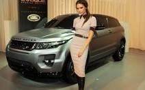 Victoria Beckham et l'Evoque customisé par ses soins