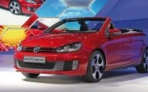 Volkswagen Golf GTI Cabriolet : Coupe d'été...