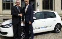Volkswagen Golf Blue-e-motion : déclaration d'intention