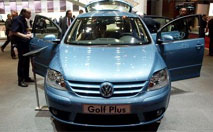 Volkswagen Golf Plus : Wolfsburg sort son Minispace