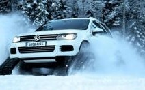 Volkswagen Snowareg : le Touareg chaussé pour l'hiver