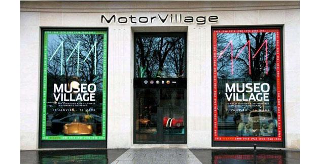Museo Village : une expo sur l'histoire de Fiat aux Champs Elysées