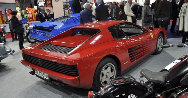 La Ferrari Testarossa D'Alain Delon aux enchères à Rétromobile