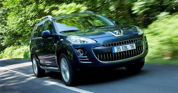 Peugeot 4007 : Mister dynamique