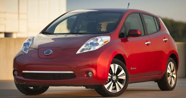 Nissan LEAF : ventes record en 2013