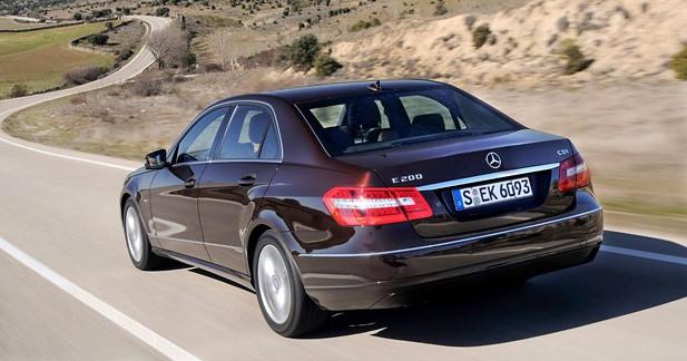 Mercedes Classe E : 2 nouveaux blocs BlueEFFICIENCY