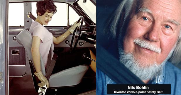 La ceinture de sécurité à trois points a 50 ans