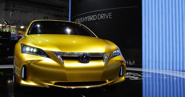 Lexus LF-Ch : l'Europe en ligne de mire