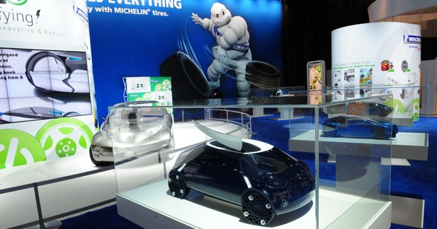 Concours de design Michelin sur la voiture électrique du futur