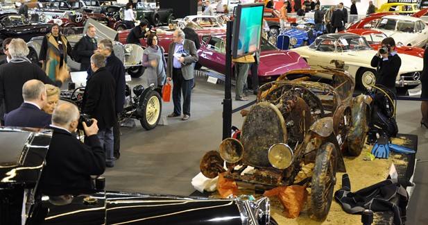 Rétromobile 2010 : doux vent de nostalgie