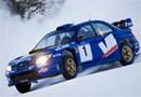 WRC: Ostberg sur une vieille Subaru