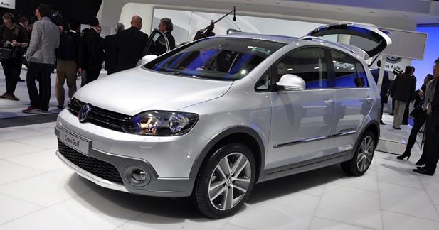 Volkswagen CrossGolf : la compacte des champs