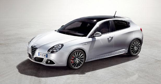 L'Alfa Giulietta à partir de 21 500 euros