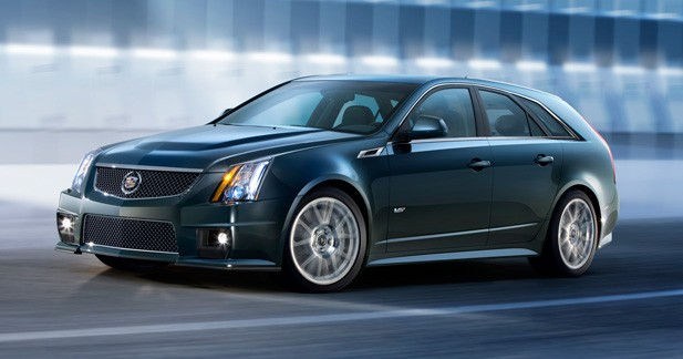 cadillac cts v sport wagon familiale sportive. Black Bedroom Furniture Sets. Home Design Ideas