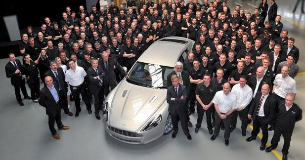 Aston Martin lance enfin le coupé 4 portes Rapide !