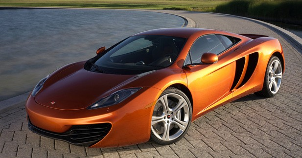 La McLaren MP4-12C s'expose à Goodwood