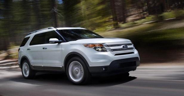 Ford Explorer 2011 : De l'eau dans son whisky