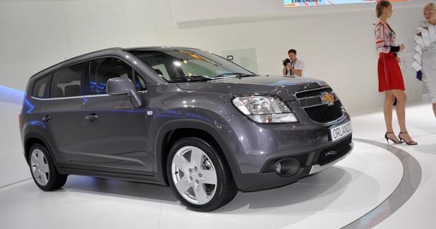 Chevrolet dévoile son Orlando à Paris