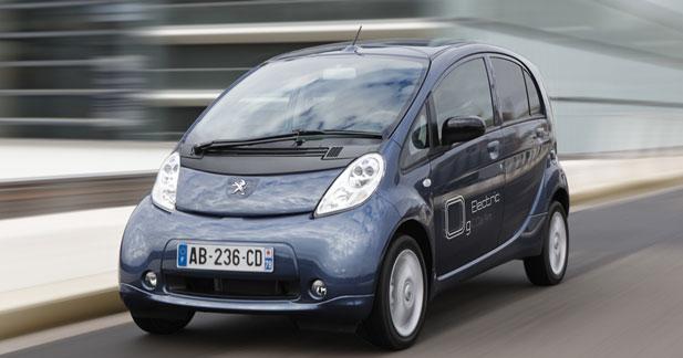 Peugeot Ion : prête pour la location