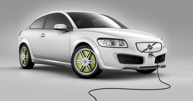 Volvo ReCharge Concept : l'hybride E85