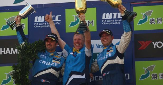 WTCC : Yvan Muller champion du monde !