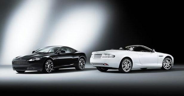 Aston Martin DB9 : trois séries spéciales pour 2011