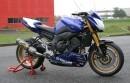 Yamaha crée la FZ8 Road Cup