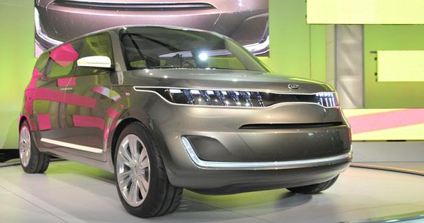 Kia KV7 Concept : la coréenne de l'Oncle Sam
