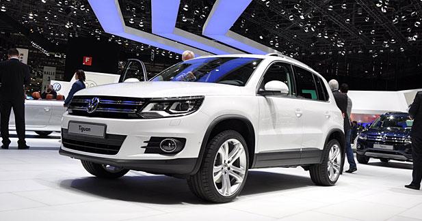 Volkswagen Tiguan restylé : tous les détails