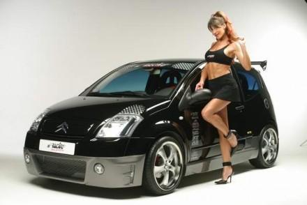 Sacrée Citroën C2...
