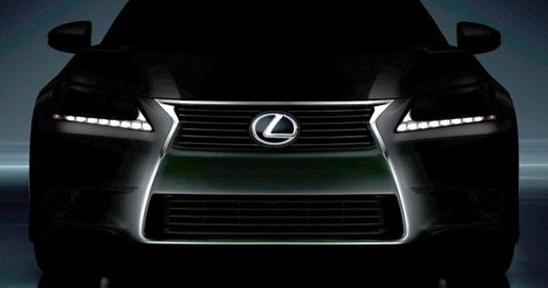 Lexus lâche un teaser de sa nouvelle GS