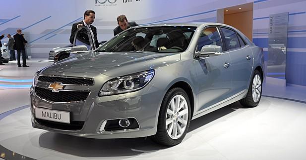 Chevrolet Malibu : alerte chez les familiales