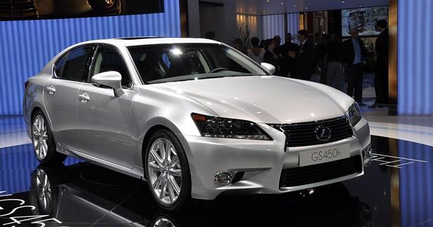 Lexus GS 450h: Lutte anti Muda...