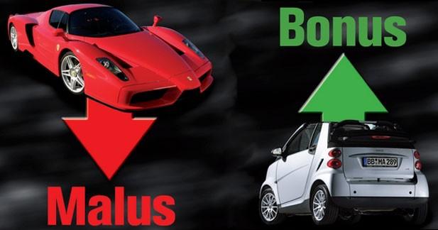 Le bonus maintenu pour les électriques et les hybrides mais un malus accru