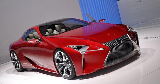 Lexus LF-LC : Grandes explorations