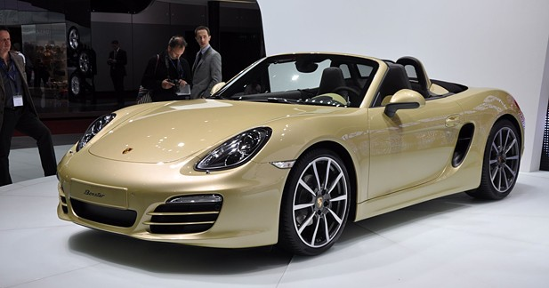 Porsche Boxster type 981 : Évolution continue