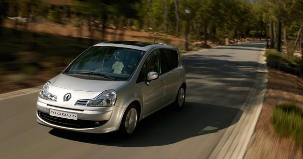Renault Modus / Grand Modus : Ancien combattant