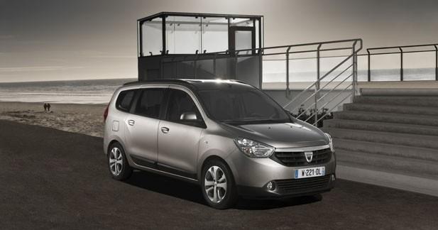 Le Dacia Lodgy dévoile tous ses tarifs