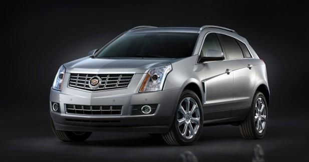 Cadillac dévoile le SRX restylé à New York
