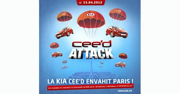 Kia organise un jeu original pour promouvoir la CEE'D