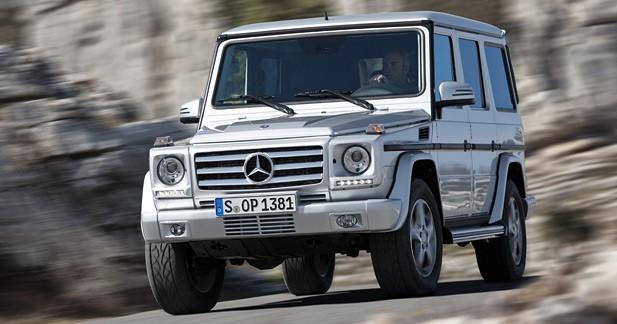 Mercedes Classe G restylé : Bon pied bon œil