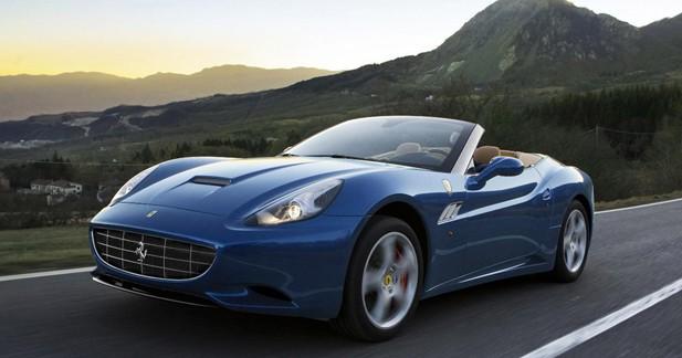 La Ferrari California restylé dévoile ses tarifs